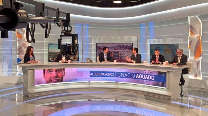 Ignacio Aguado, en el plató de Los Desayunos de TVE
