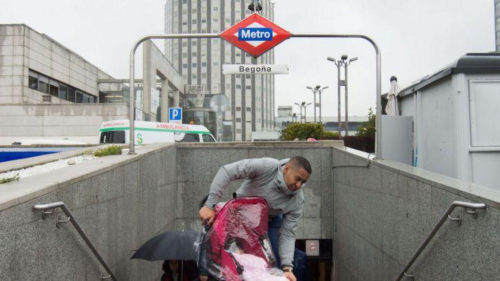 Begoña: parada de acceso a dos hospitales y sin ascensores