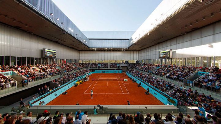 Partido del Mutua Madrid Open.