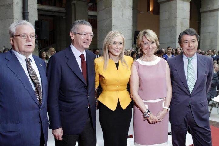 Los cinco presidentes de la Comunidad