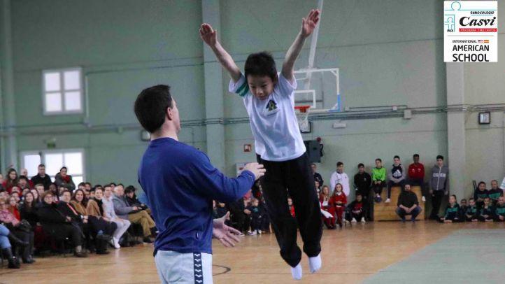 Semana del deporte en Casvi International American School de Tres Cantos