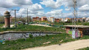 Cadena humana para pedir la aprobación de Madrid Nuevo Norte