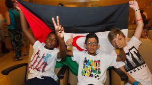 Los niños saharauis buscan un verano diferente