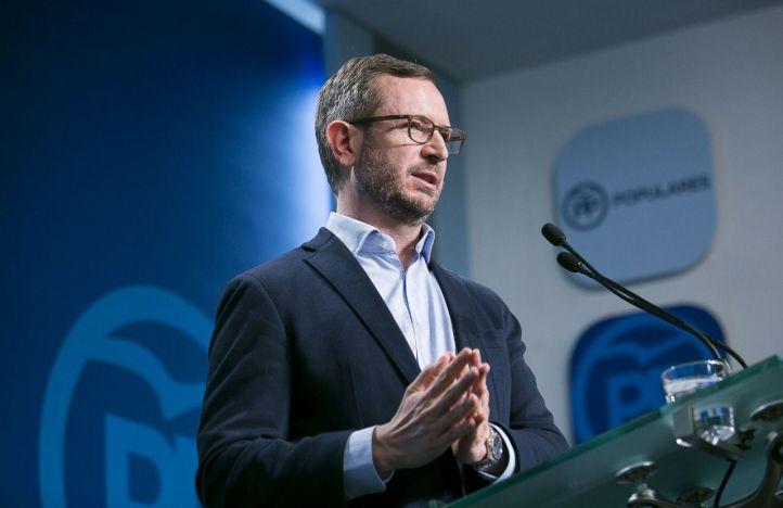 Javier Maroto, vicesecretario de Política Social Sectorial del PP.