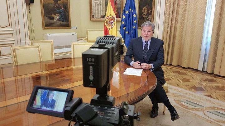 El ministro portavoz Íñigo Méndez de Vigo