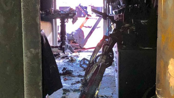 Un hombre, grave tras un incendio en Alcorcon