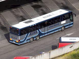 Autobús Alsa en Estación Sur