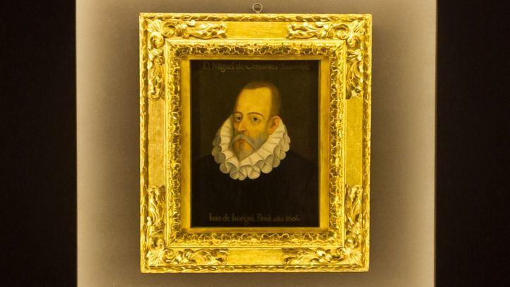 Retrato de Miguel Cervantes Saavedra de un anónimo y atribuido a Juan de Jaúregui.
