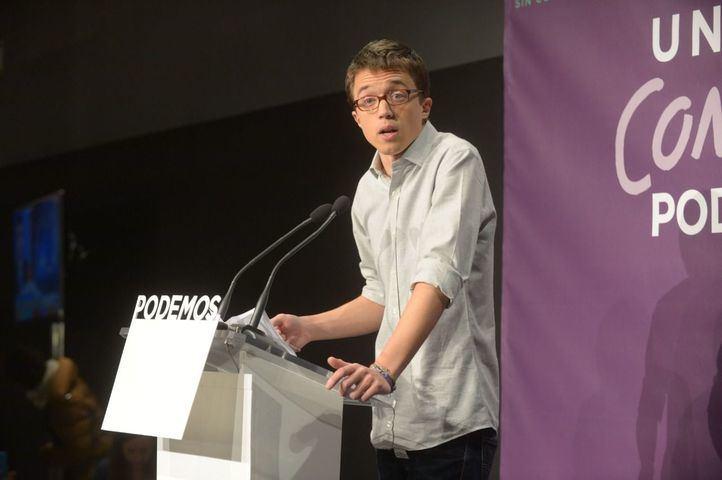Errejón es el candidato de consenso para las dos familias mayoritarias de Podemos, pese a las últimas broncas internas.