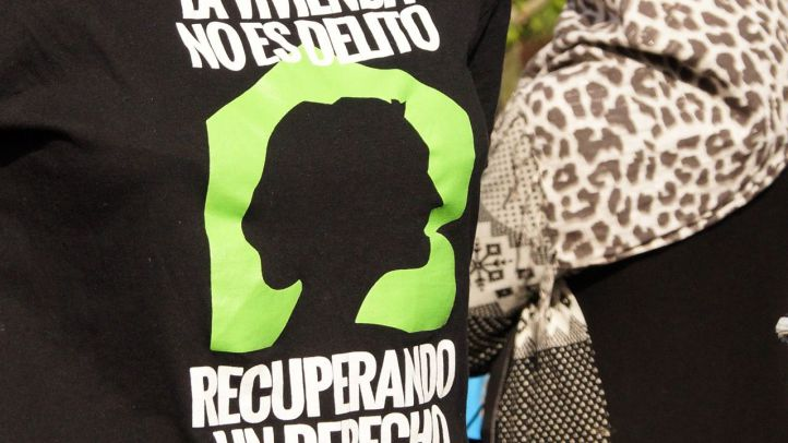 Suspendido el desahucio de Villaverde que la ONU pidió parar