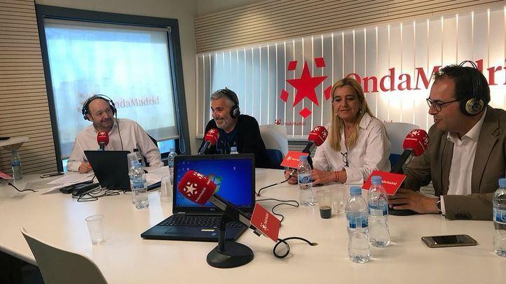 Mariola Vargas y Santiago Llorente en Com.Permiso.