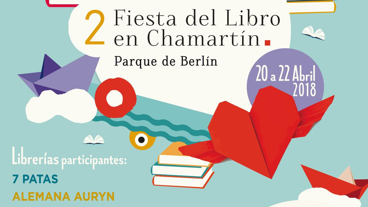 La II Fiesta del Libro en Chamartín ha sido promovida por la Junta Municipal.