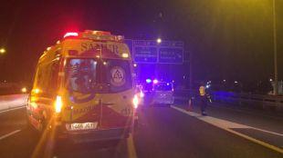 Muere tras ser atropellado por un taxi en la M-40