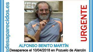 Alfonso Benito Martín, 58 años.
