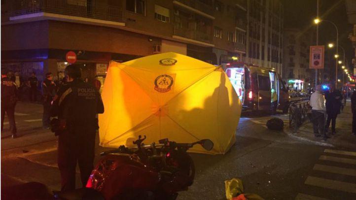 Accidente en Arganzuela