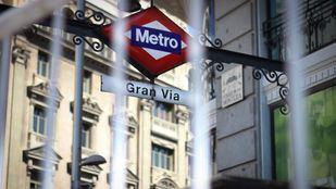 Metro cierra dos salidas de Gran Vía desde el lunes