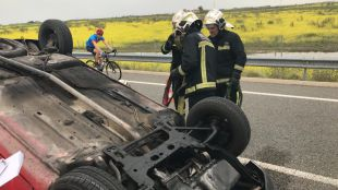 Accidente de tráfico en Griñón