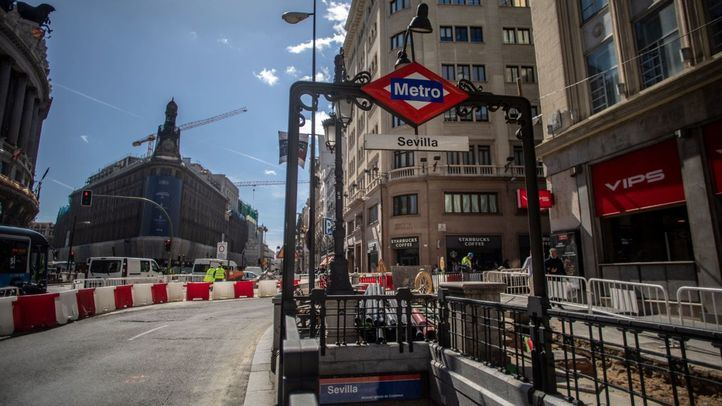 Cierra por obras la estación de Sevilla