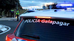 La huida de los policías locales de Galapagar