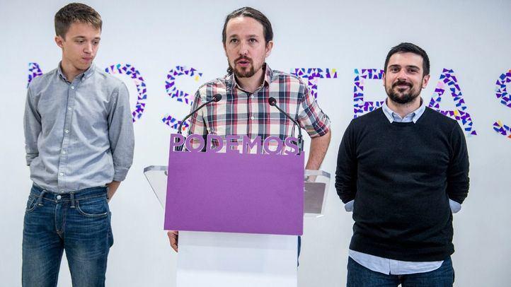 Podemos retira el eslogan 'Nosotras' que presidió la presentación de la candidatura de Errejón