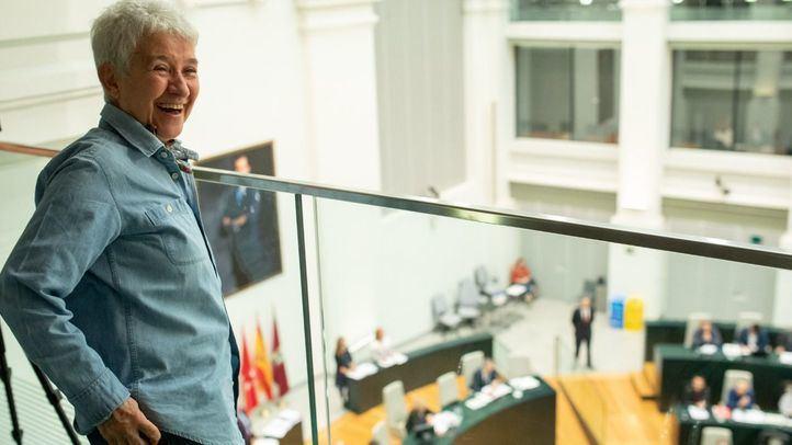 Boti García ha asistido a la votación en el Palacio de Cibeles este martes.