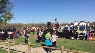 El parque Bolitas del Airón el día de San Marcos 2016.