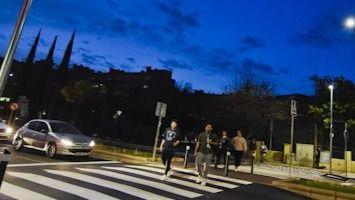 Torrejón iluminará los pasos de peatones
