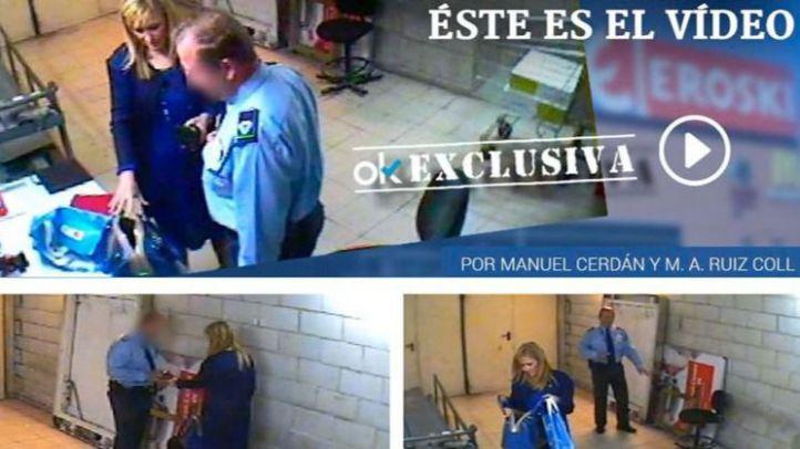 Cifuentes roba en un supermercado