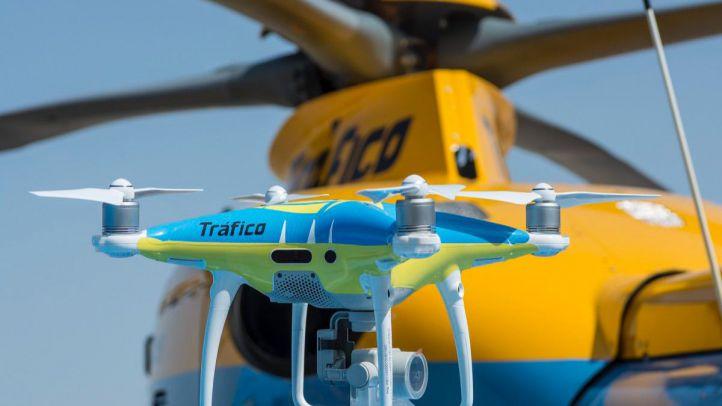 La Operación Salida despega: la DGT vigila con drones