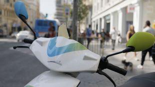 La moto compartida se abre paso en Madrid