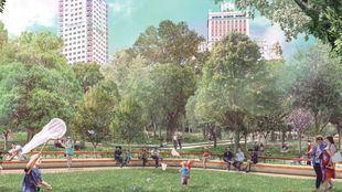 Luz verde a la remodelación de Plaza de España