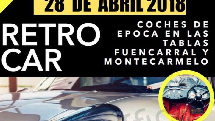 Coches de época para reivindicar Madrid Nuevo Norte