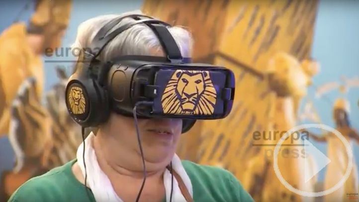 Experiencia Virtual de El Rey León