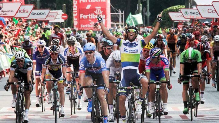 Etapa final de la Vuelta a España 2013. Michael Matthews ganador de la última etapa de la Vuelta ciclista a España 2013.
