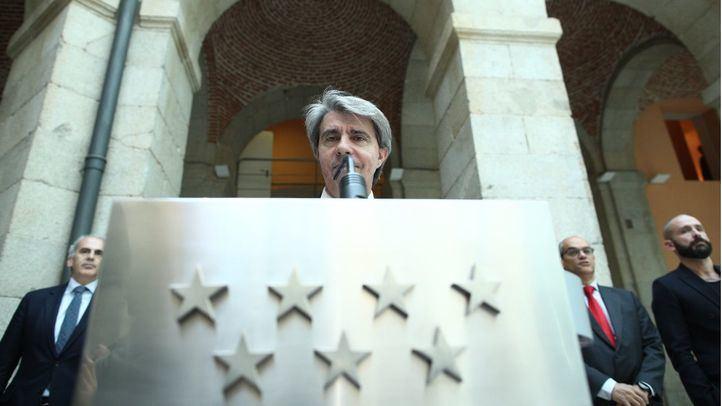 El presidente en funciones, Ángel Garrido