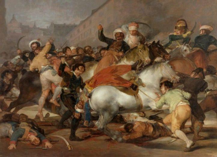 'El 2 de mayo en Madrid', de Francisco de Goya.