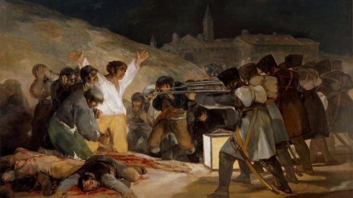 'El 3 de mayo en Madrid', de Francisco de Goya.