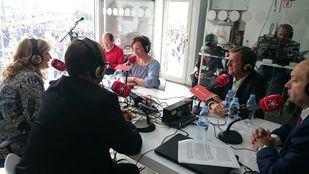 Luis Partida, Cati Rodríguez y Serafín Falardos visitan Onda Madrid