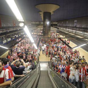 Así será el dispositivo de seguridad del Atlético-Arsenal
