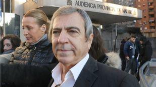 Ginés Jiménez en el inicio del juicio por el Caso Bloque, centrado en una presunta trama policial en el municipio madrileño de Coslada, en la Audiencia Provincial de Madrid.