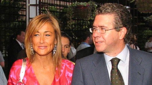 Cristina Cifuentes y Francisco Granados en una foto de archivo del año 2005.
