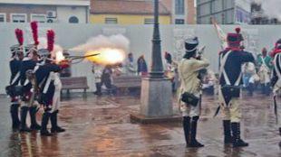 Recreación del levantamiento del 2 de mayo en Torrejón de Ardoz