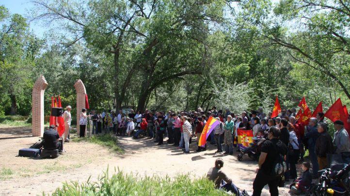 Memorial en Alcalá de Henares a las víctimas de la represión franquista