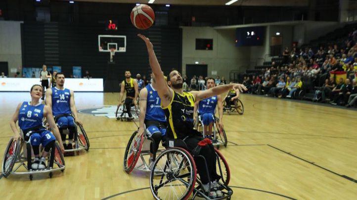 Final de la Champions League de baloncesto en silla de ruedas