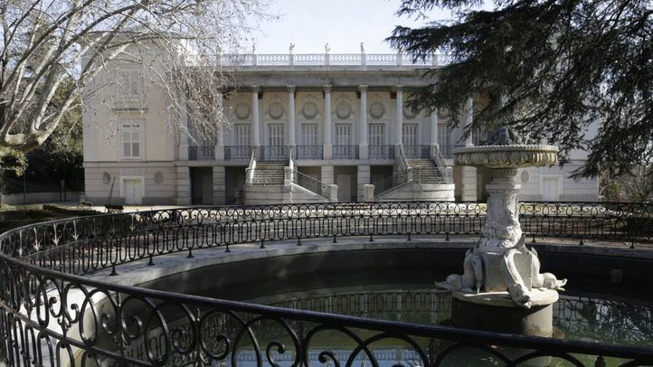 Obras en el Palacio de El Capricho: