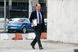 Jesús Sepúlveda entrando a la Audiencia Nacional.