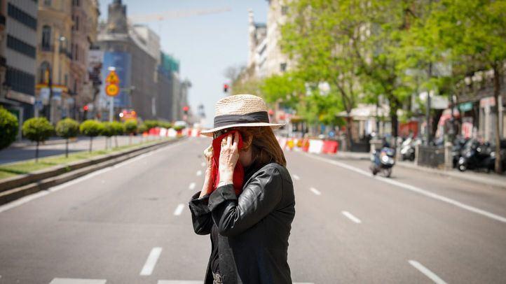 Caos en el centro de Madrid por una fuga