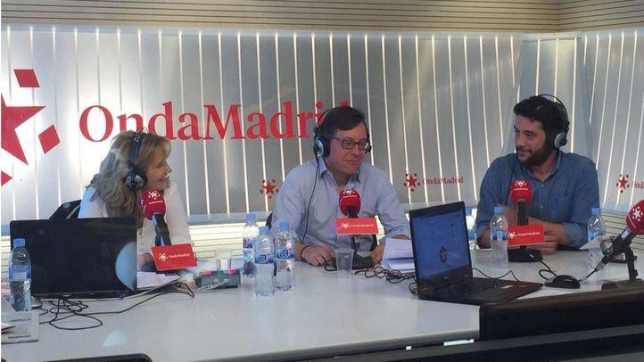 Alfonso Serrano y César Zafra en Com.Permiso.
