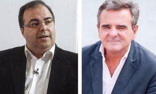 Santiago Llorente y Narciso de Foxá en Onda Madrid