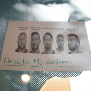 La víctima de La Manada denuncia amenazas tras filtrarse sus datos